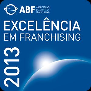 Selo de Excelência em Franchising - 2013
